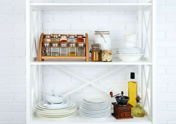 the refrigerator or pantry