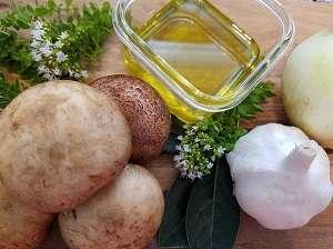 Mushroom Pâté ingredients