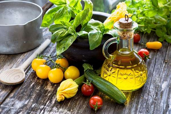 Diet based on the Mediterranean Diet