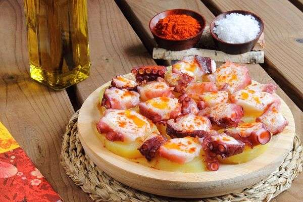Galician style Octopus recipe
