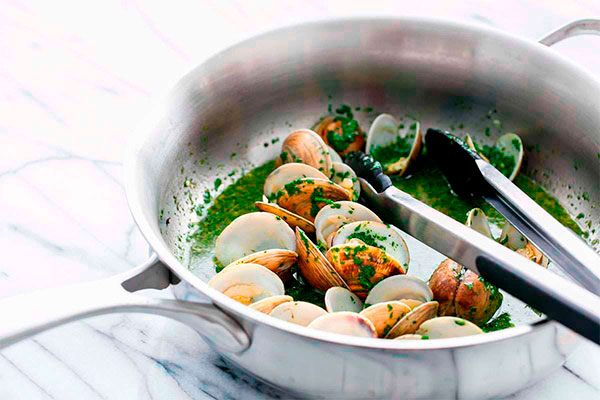 Mojo Clams with Olive Oils from Spain_details