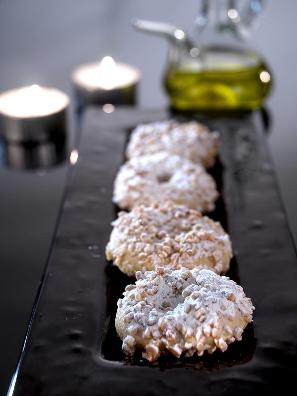 Almond donuts