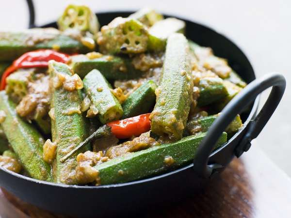 Bhindi masala with DESI spices