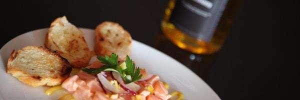Marc Murphy's Salmon Tartar recipe