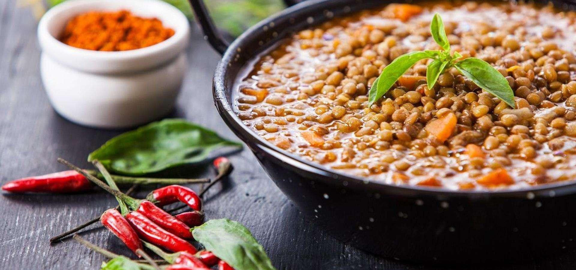 Braised lentils recipe