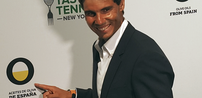 Rafa Nadal, the global ambassador for Olive Oils from Spain