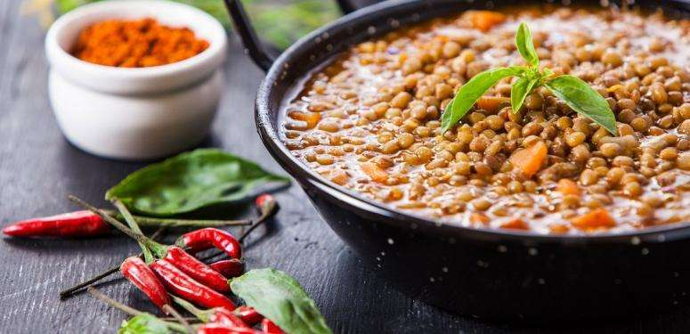 Braised lentils recipe