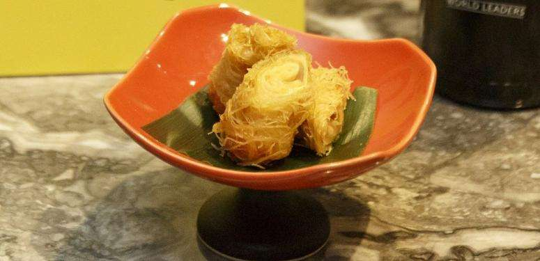 Crispy yuba rolls recipe