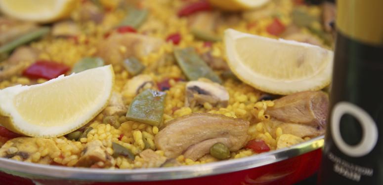 Tradicional Paella recipe