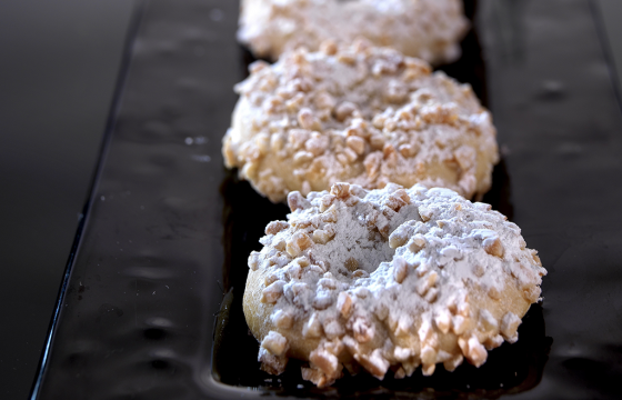Almond doughnuts recipe