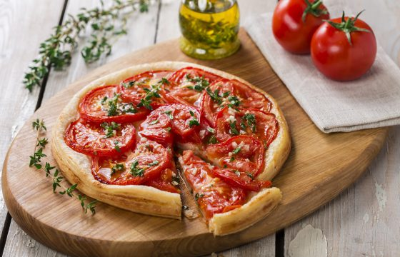 Olive Oil Tomato Tart recipe