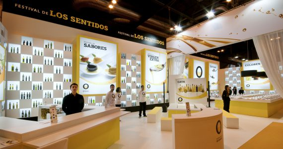 27th International Gourmet Club Exhibition 2013 – Workshop of the Senses. Introducing the new «Spanish Olive Oils» promotional brand.