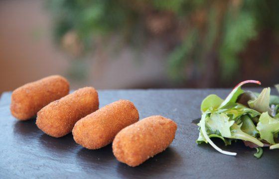 Iberian ham croquettes recipe