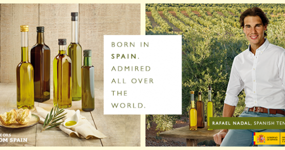 Olive Oils from Spain and Rafa Nadal: born in Spain, admired all over the world