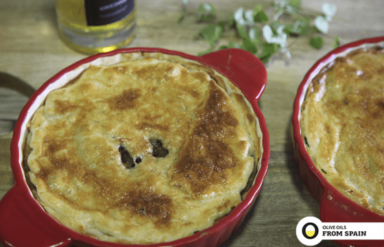 Meat pie with Olive Oil recipe