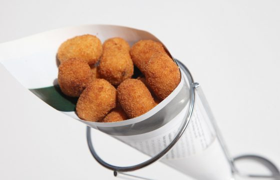 Mini king prawn croquettes recipe