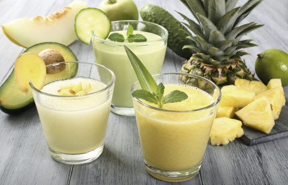 Tropical fruit juice recipe