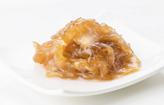 Onions caramelized in olive oil