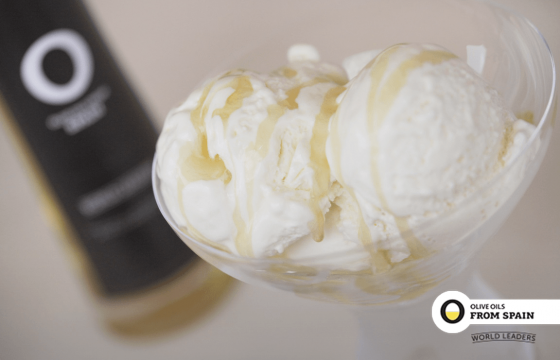 Olive Oils flavored ice-cream recipe