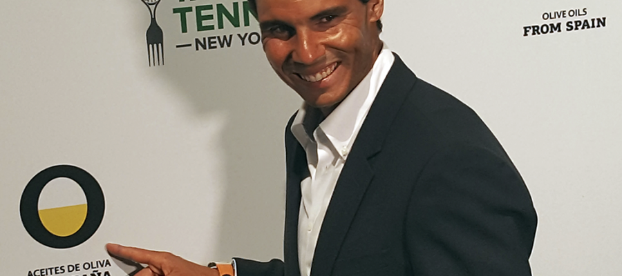 Our thanks to Rafa Nadal for taking Olive Oils from Spain to the top