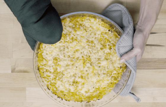 Potato and squash casserole