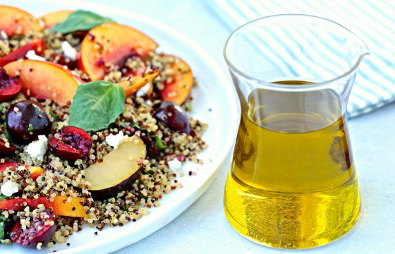 Quinoa Salad with Stone Fruit