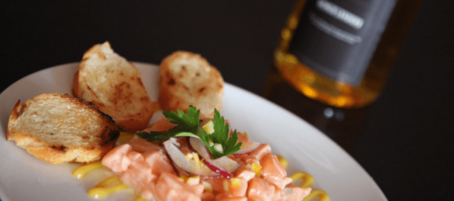 Marc Murphy's Salmon Tartare recipe