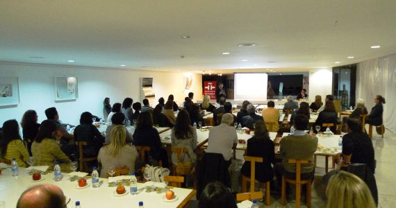 Cultural workshops «Spanish Olive Oil: Culture, Science and Cuisine» (2012).