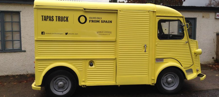 Enjoy the best Spanish tapas from our Tapas Truck