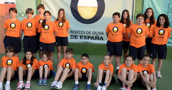 Spanish olive oils at the City of Martos ITF Tennis Futures Tournament (2013)
