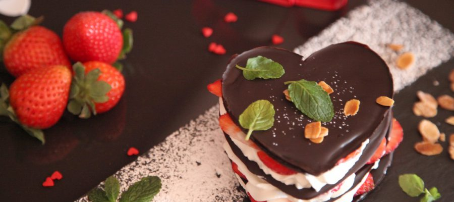 The Best Sweet for Valentine's Day: Chocolate Millefeuille