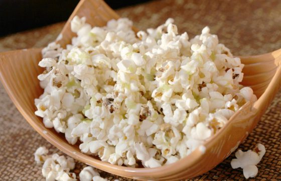 Wasabi and ginger popcorn recipe