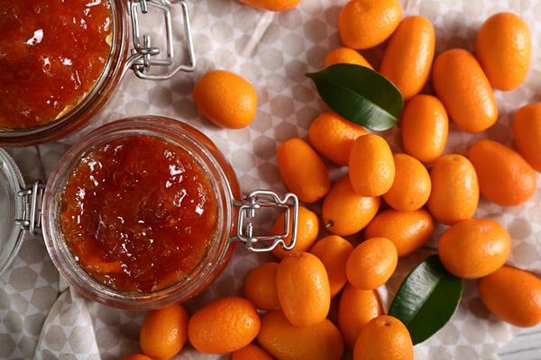 The kumquat chutney has a great bittersweet flavor
