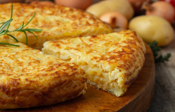 10 types of potato tortilla
