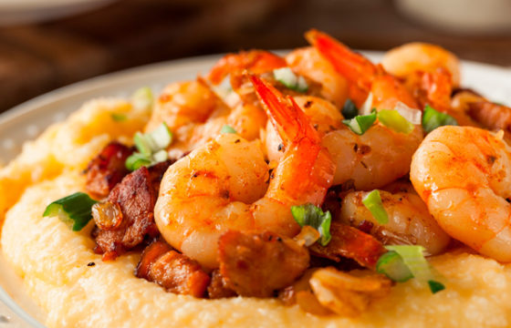 AMERICAN COOKERY: Shrimp and Grits