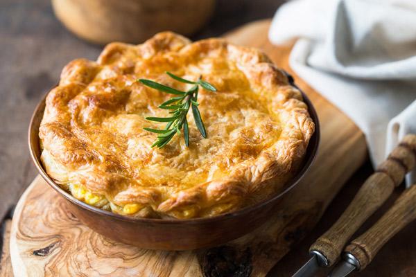 Grandma's Famous Chicken Pot Pie