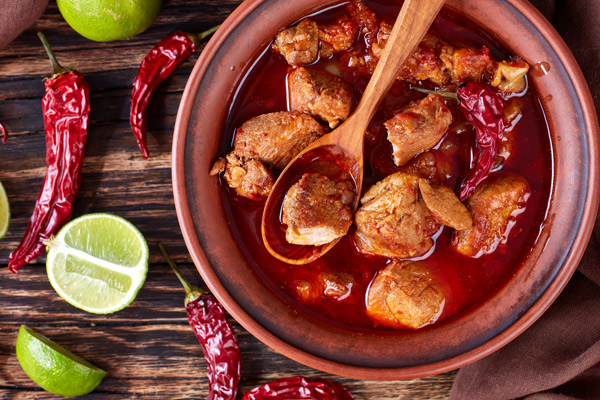 Adobada is a classic spicy marinade that combines well with pork and chicken