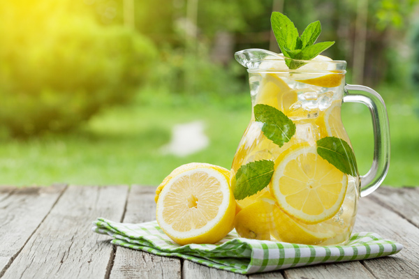 Lemonade is an easy but super refreshing drink